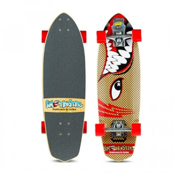 "30"" Barracuda SmoothStar Surfing Skateboard for Grommets"